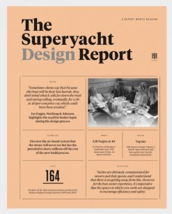 Dec 2018 : Navalmartin feature in The Superyacht Design Report